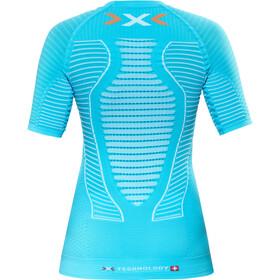 X-Bionic Effektor Running Power Koszula z krótkim rękawem Kobiety, turquoise/white
